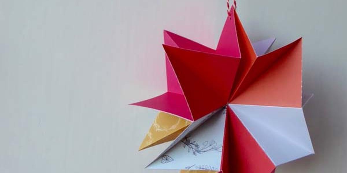 Make A Hanging Star