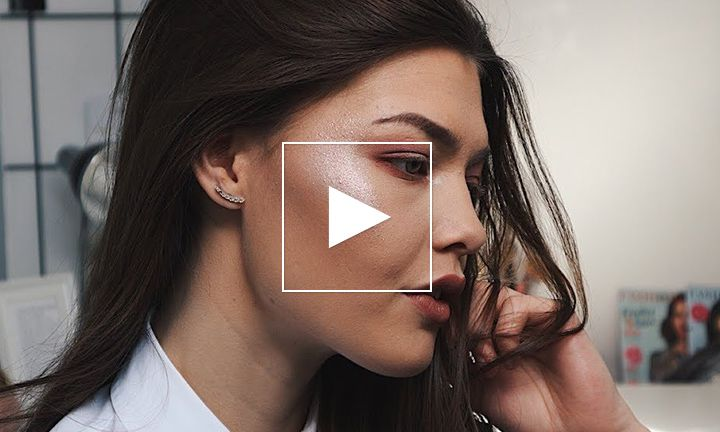 Video: sparkly festival look