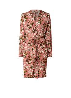 Fulmar verano badjas van jersey met bloemendessin