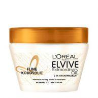 L'Oréal Paris Elvive Hair Expert Elvive Extraordinary kokosolie haarmasker - 300 ml