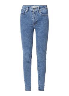 Mile High Hyperstretch Super Skinny Jeans met medium wassing