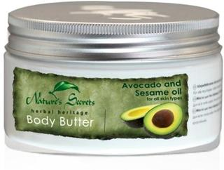 Body Butter Avocado and Sesame oil