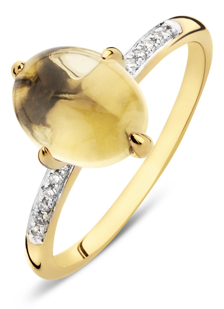 Diamond Point Little drops geelgouden ring Kopen Authentieke Online Verkoop Officiele Site Kopen Goedkope Beste Verkoop Qi1OZk1l