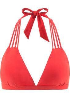 Dames triangel bikinitop in rood