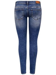 Onlcoral Super Low Skinny Jeans Dames Blauw