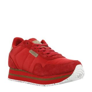 Nora II Plateau sneakers rood