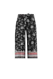 Dames Cropped broek Zwart