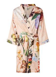 Fleur kimono van katoen met bloemendessin