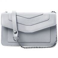 Little Grey Leather Bag