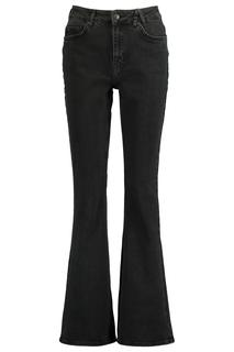 Dames Flared Jeans Peggy Zwart