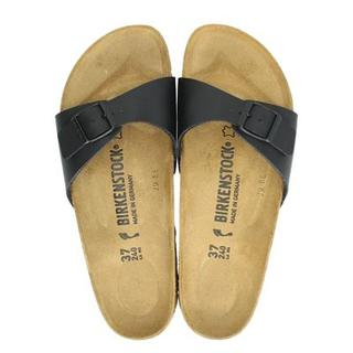 Madrid slippers zwart
