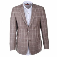 Suitable Basic - Camel geruite blazer