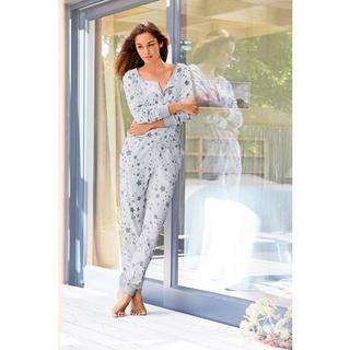 BENCH homewear jumpsuit met sterrenprint