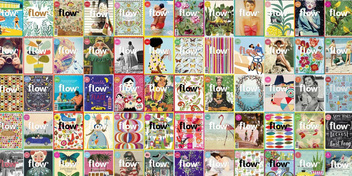Favoriete omslagen Flow