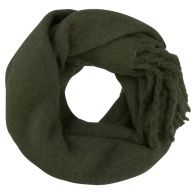 Oversized Knitted Scarf - Army
