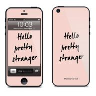 Statement skincover voor de iPhone 4 / 4s - roze