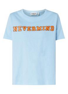 Sandominga T-shirt met tekstopdruk