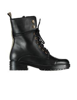 P15472-l1040poe Biker boots met rits en veters P15472-L1040POE