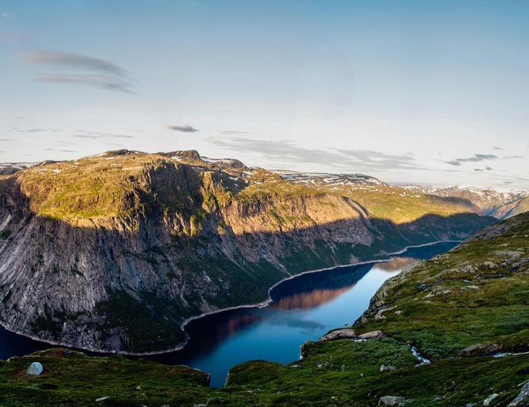 wandelgebieden in Noorwegen