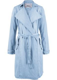 Dames jas lange mouw in blauw