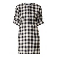 Warehouse Gingham tuniekjurk met blokruit