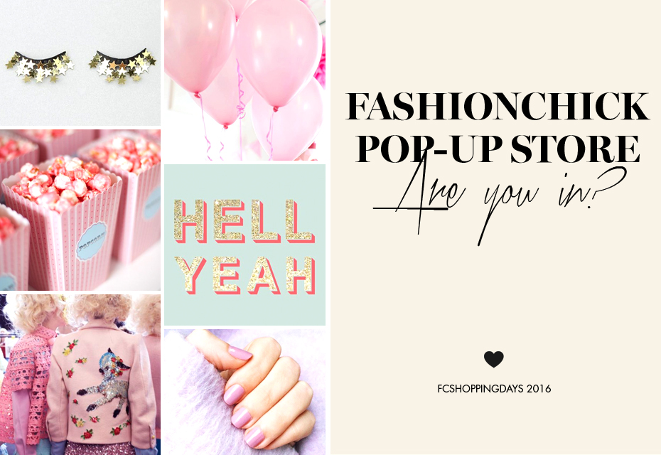 Fashionchick Shopping Days 2016