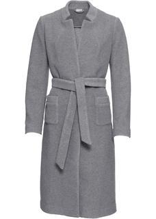 Dames jas lange mouw in grijs