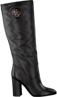 Zwarte Lange Laarzen Lemmie