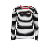 Silvercreek Teddy T-shirt Zwart
