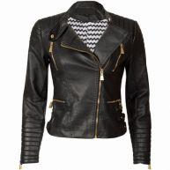 Fashionize - Biker Jacket Black
