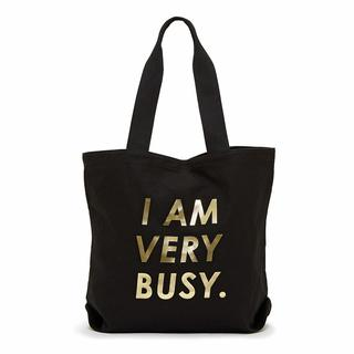 Canvas tote. I am very busy.