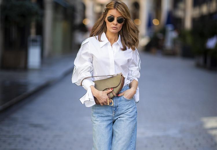 Geen item zo veelzijdig als de witte blouse