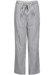Trousers print blacks ecru
