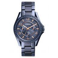 Fossil Horloge blau