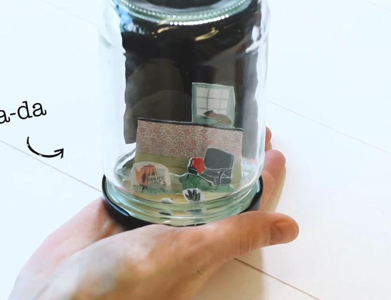 Book for Paper Lovers 5: snowglobe