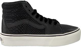 vans maddie hi sneakers zwart/wit dames