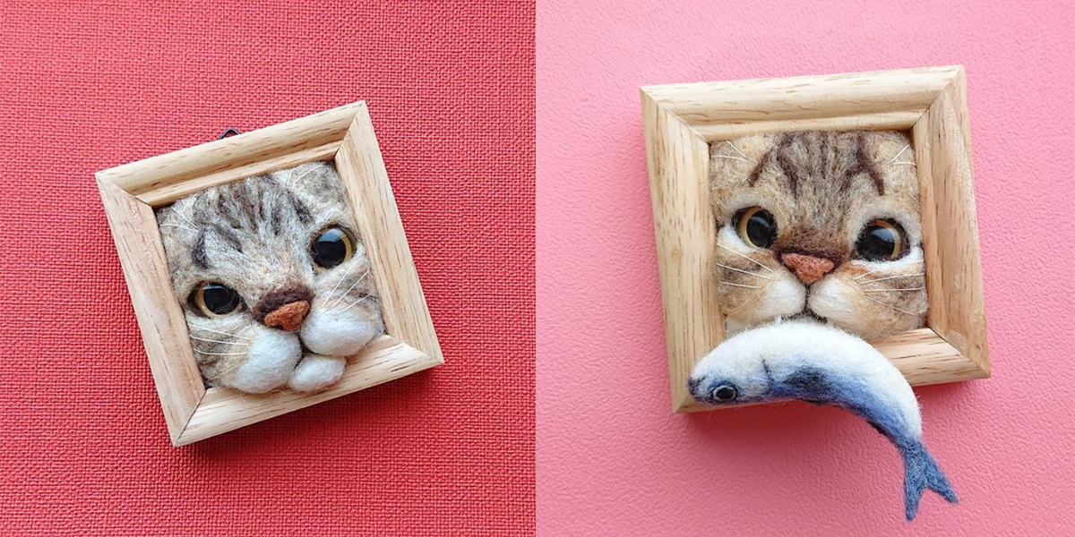Plaatjes kijken met Marjolijn: katten in lijstjes - Flow Magazine NL