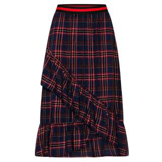 Maxi rok Vezzi red check