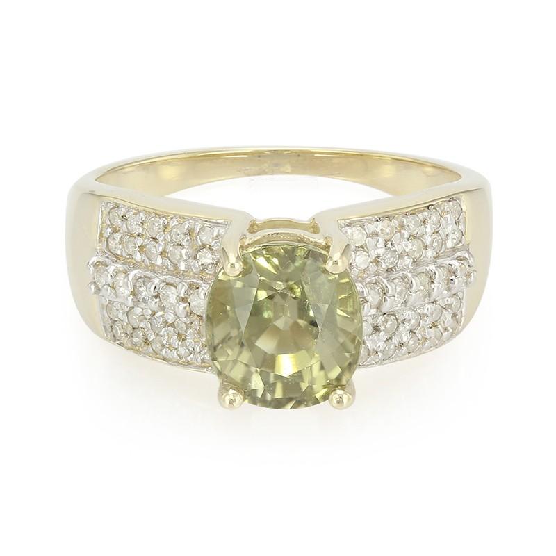 Juwelo Gouden ring met een koper toermalijn Kies Een Beste Online Echte Online Te Koop Officiele Site Goedkope Prijs FYXUD5h0