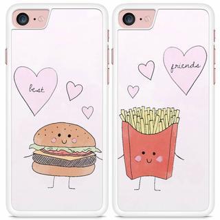 Best friends hoesjes - Hamburger en frietje