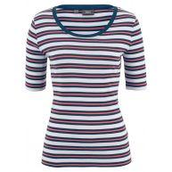 Dames shirt halve mouw in rood - bpc bonprix collection