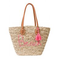 Dames strandtas in beige - bpc bonprix collection