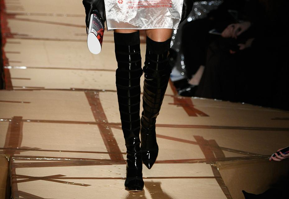 Winterlaarzen trends: Lak schoenen