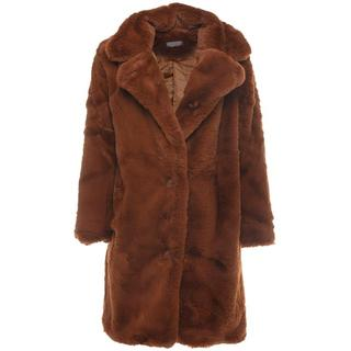 BIG FAUX FUR COAT