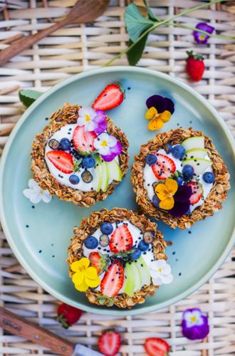 Brunch-proof met deze granola ontbijttaartjes