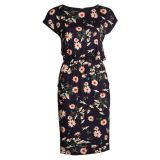 Jurk Flower Bouquets Dark Blue
