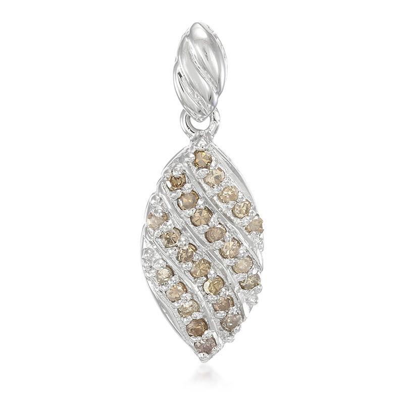 Juwelo Zilveren hanger met Chocolate Diamonds (Cavill) Verkoop Sast ZAf91JXZ3E