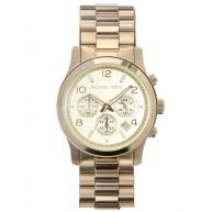 Michael Kors Runway MK5055 Gold Chronograph Watch