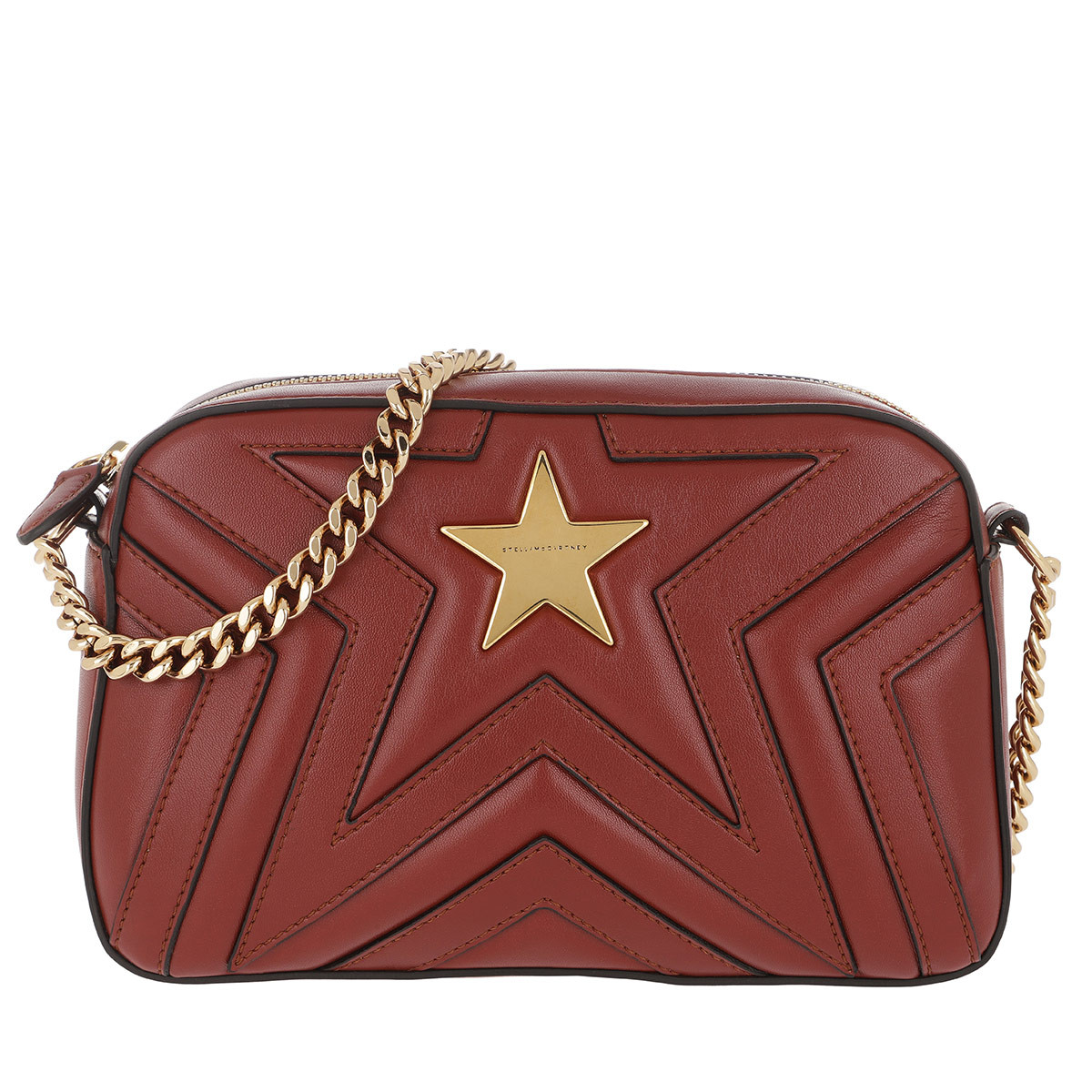 Stella Mccartney Stella Mc Cartney Schoudertassen - Camera Bag Medium Red in rood voor dames Goedkope Beste Wholesale adviseren Verkoopadressen 1bT94