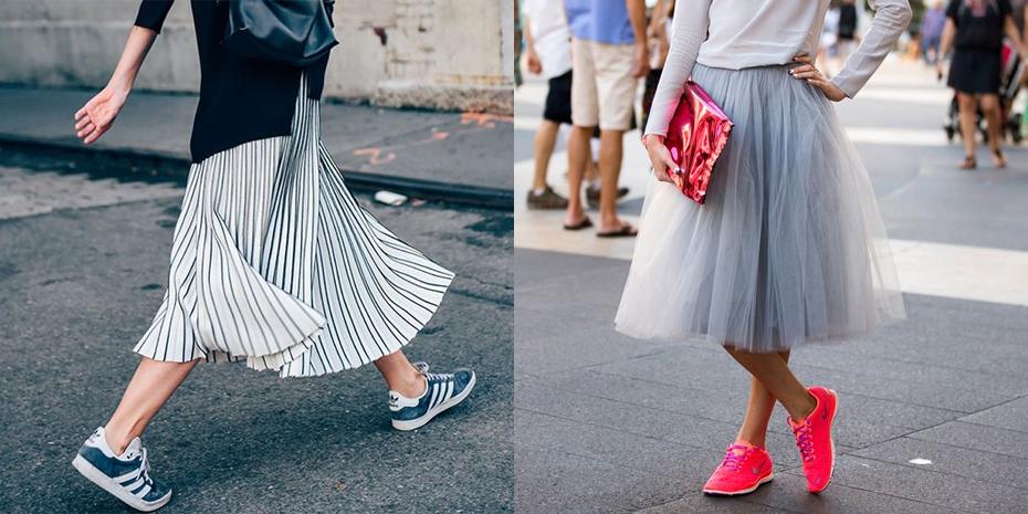 5 manieren om sneakers te dragen